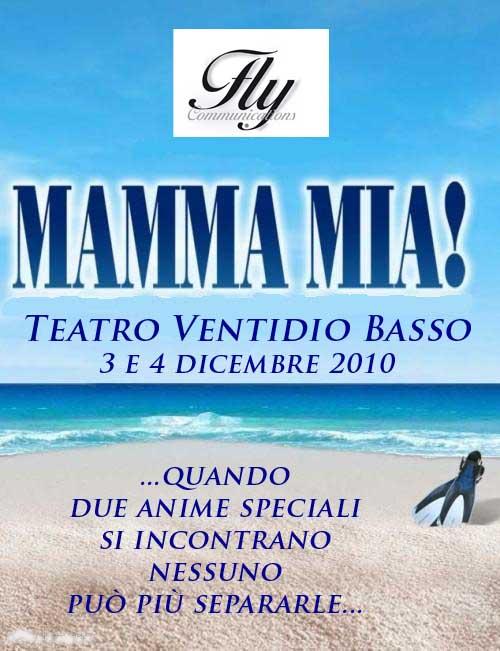 """mamma mia movie poster. debutterà """"MAMMA MIA!"""
