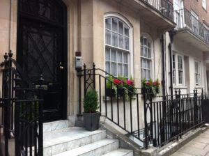 L'elegante casa di Henry Higgins in Wimpole Street 27/A, Londra
