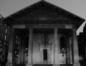 St.Paul's Church in Covent Garden, luogo dell'incontro tra Henry ed Eliza