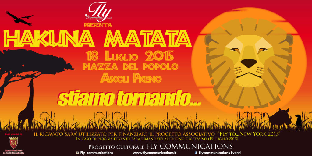 Tutto pronto per l'evento dell'estate ascolana targato Fly Communications!