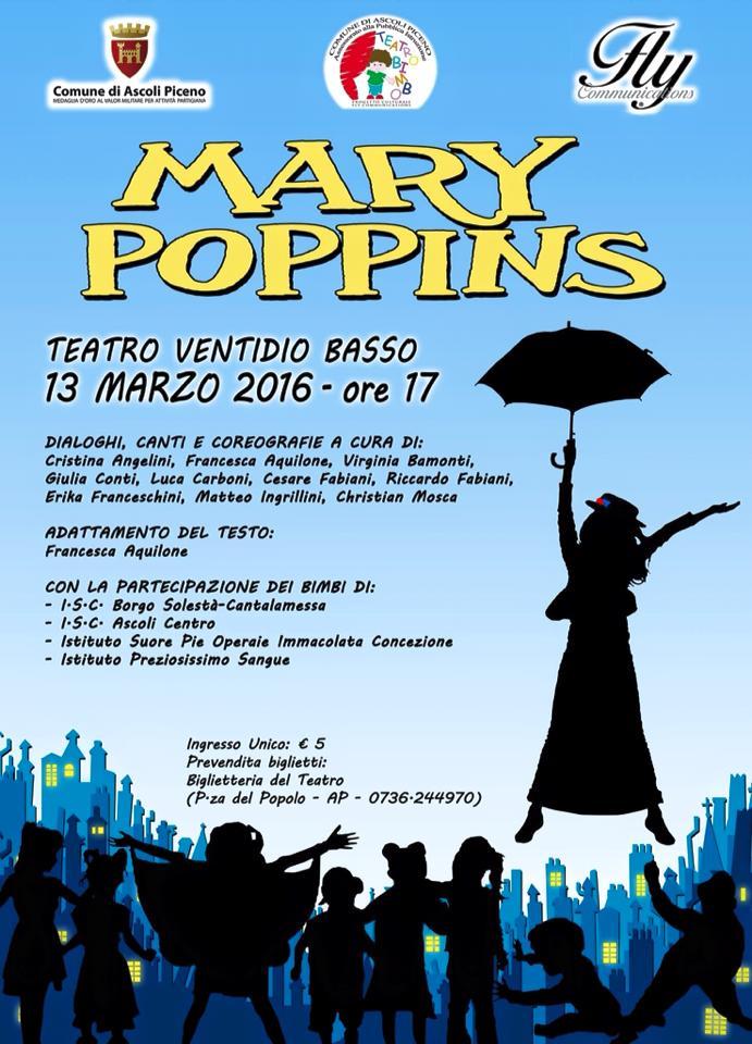 Torniamo al Ventidio con Mary Poppins!