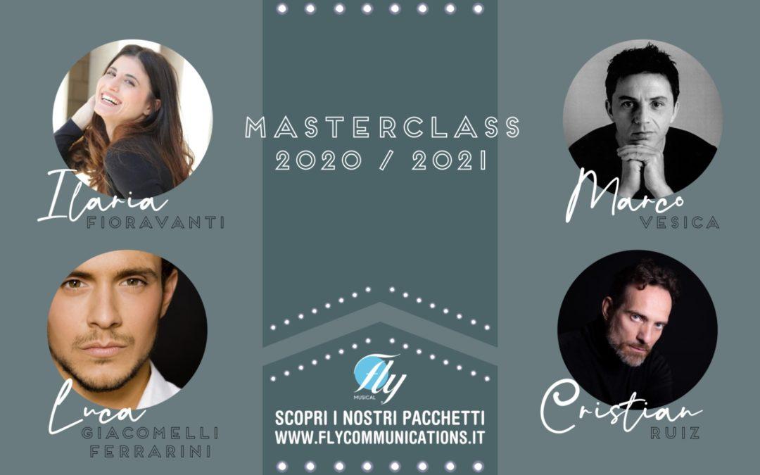MASTERCLASS, Scuola di Musical FLY!